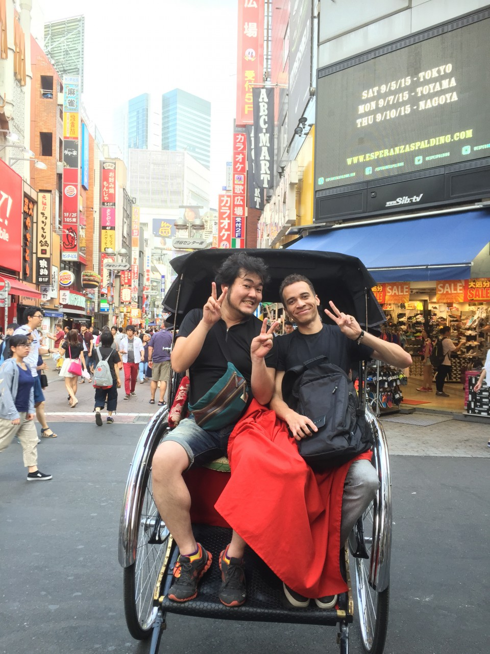 "Did you know the word ""Rickshaw"" is actually from Japanese word ""Jin-Riki-Sha""?"