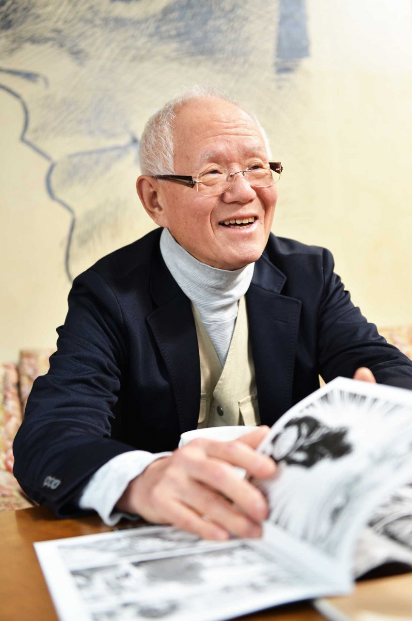 Chiba Sensei talks of great secrets, in creating his manga...