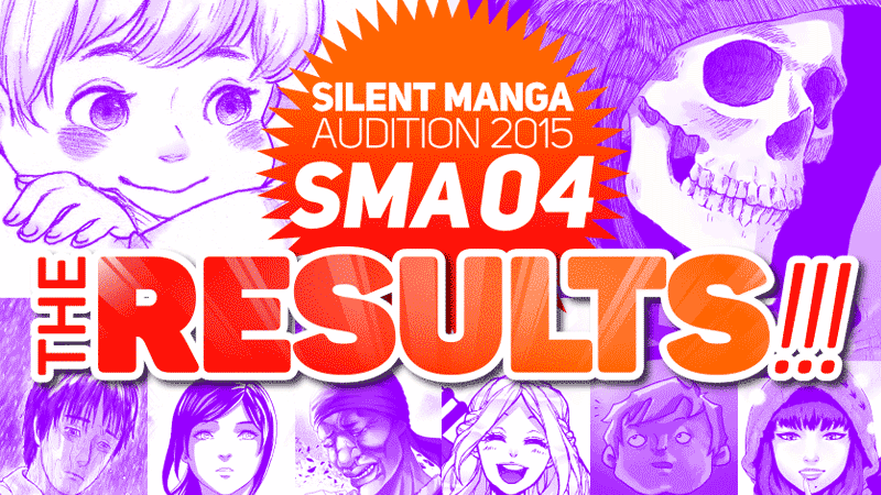 SMA04 – SILENT MANGA AUDITION 2015 AWARD WINNERS!