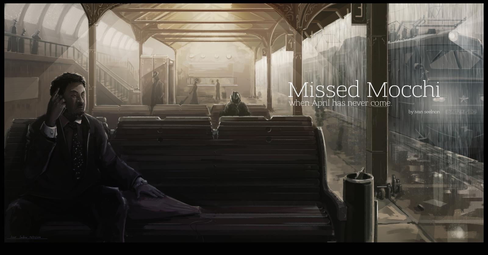 Missed Mocchi train banner