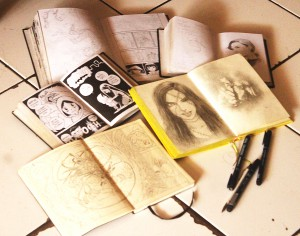 a_my sketchbooks