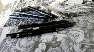MY TOOLS PENS AND PENCILS
