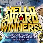 """Read it if you want to live""! Argentinian artists will TERMINATE rivals & go big! -Hello Award Winners #11 Lea Caballero & Mariano Sciammarella"