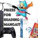 PRIZES FOR READING MANGA?!