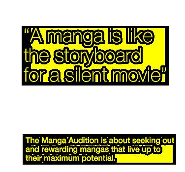 "What is a ""Silent-Manga"" ?   MANGA AUDITION"