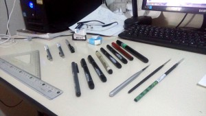 07ph _ The main tools here are pen ink 0.05-0.03,mechanical pencil 0.3-0.2 and super japanese rubber