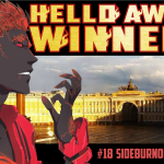 FLAMES OF DETERMINATION are melting Russia! THE MANGA-AWARD HUNGER GAME! - Hello Award Winners! #18 Sideburn004